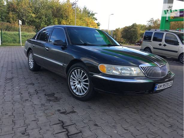 Lincoln Continental 1998 года