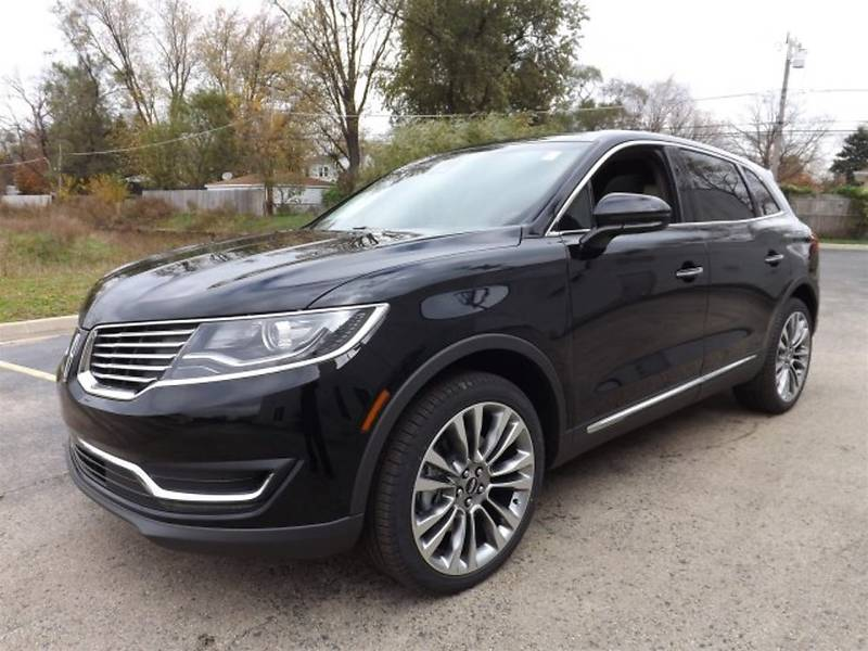 Lincoln MKX 2017 года