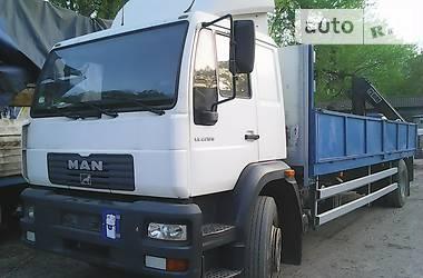 MAN 18.224 кран - 2001