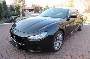 Maserati Ghibli Ghibli Sport 2013