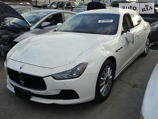 Maserati Ghibli 2014 года