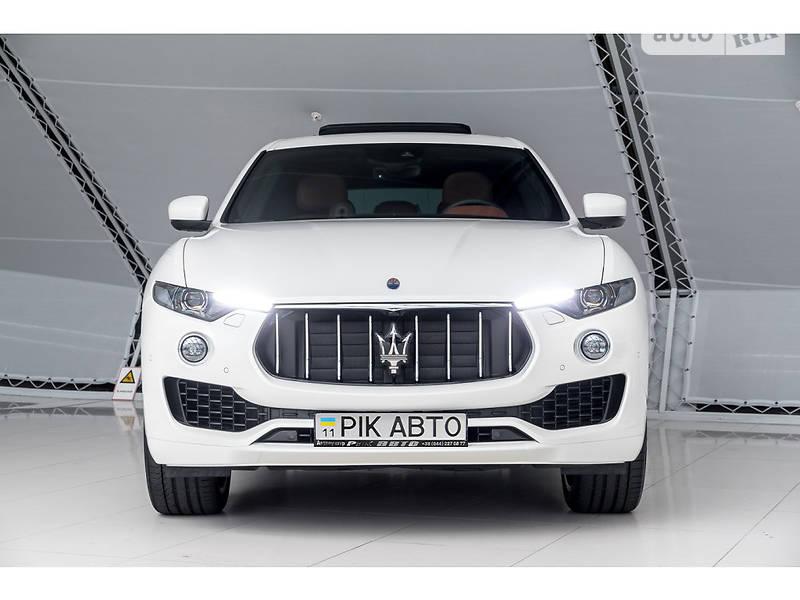Внедорожник / Кроссовер Maserati Levante