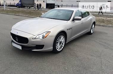Maserati Quattroporte SQ4 3.0 2013