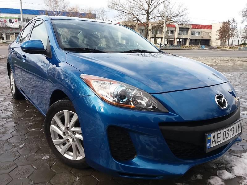 Mazda 3 2012 года
