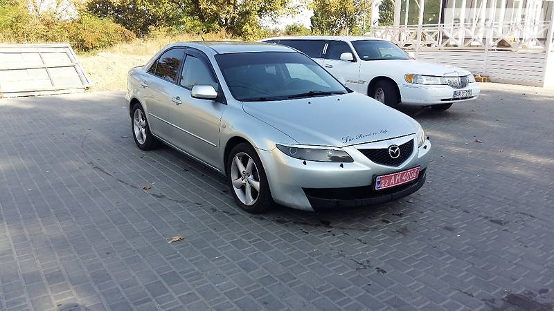 Mazda 6 2004 года