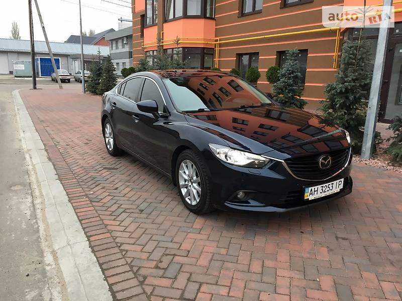 Mazda 6 2014 года