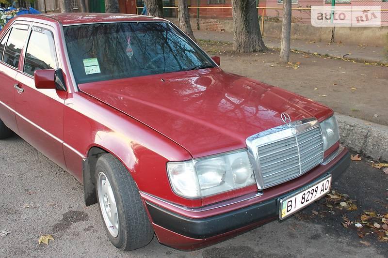 Mercedes-Benz 200 1991 года