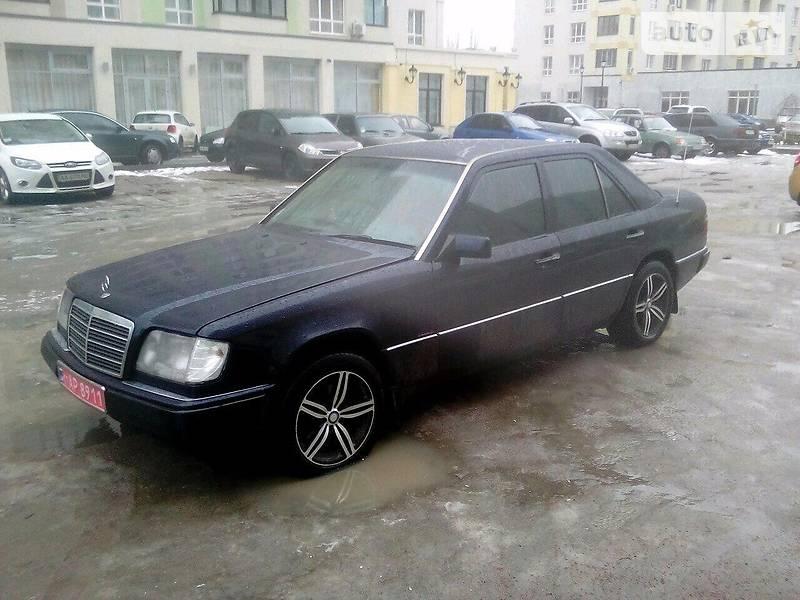 Auto ria 260 w124 1991 3500 for Mercedes benz 260