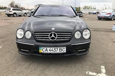 Mercedes-Benz CL 500 55 AMG 2002
