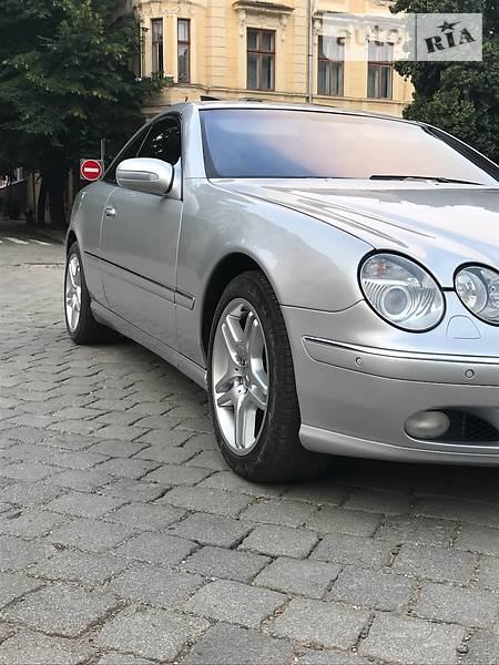 Mercedes-Benz CL 2001 года