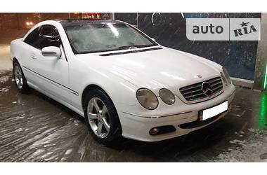 Mercedes-Benz CL 500 2004