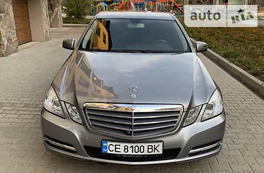 Mercedes-Benz E 220  2012