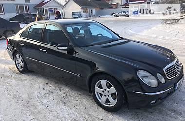 Mercedes-Benz E-Class 2.7 2003