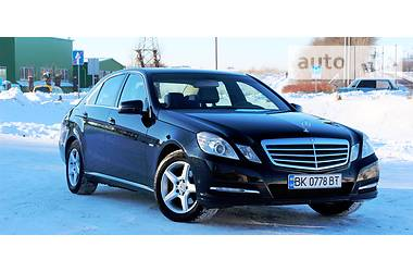 Mercedes-Benz E-Class NGT/TURBO/120KW 2012