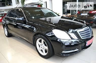 Mercedes-Benz E-Class TSI TURBO AUTOMAT 2013
