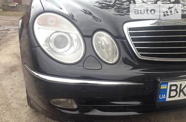 Mercedes-Benz E-Class 3.2cdi 2003