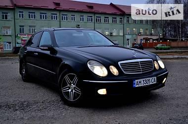 Mercedes-Benz E-Class AVANGARD 2002