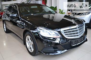 Mercedes-Benz E-Class 7G-TRONIC TSI TURBO 2014
