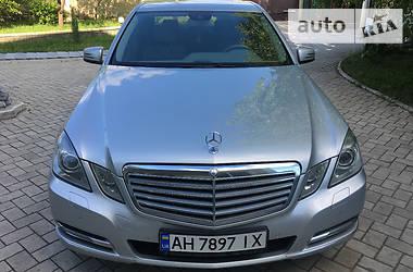 Mercedes-Benz E-Class elegance  2011