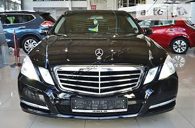 Mercedes-Benz E-Class TSI TURBO AUTOMAT 2012