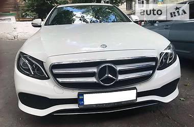 Mercedes-Benz E-Class 200d 2016