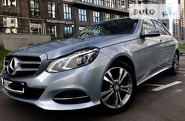 Mercedes-Benz E-Class Avantgarde 2013