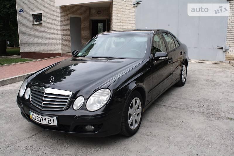 Mercedes-Benz E 2007 года