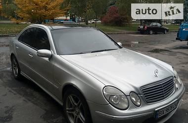 Mercedes-Benz E-Class W211 2002