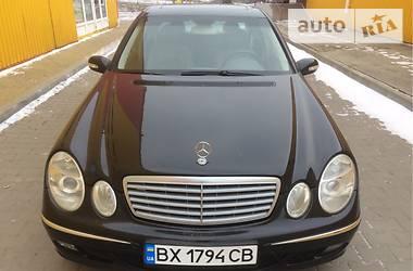 Mercedes-Benz E-Class W211 2003
