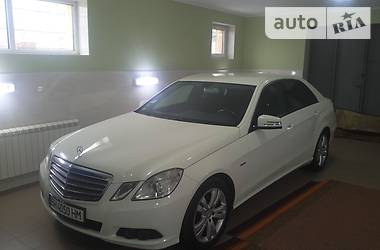 Mercedes-Benz E-Class BLUE EFFICIENCY 2011