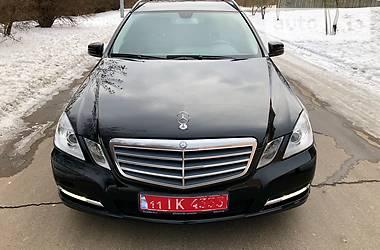 Mercedes-Benz E-Class BlueEfficiency 2012