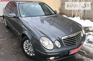 Mercedes-Benz E-Class AVANTGARDE_RESTAIL 2009