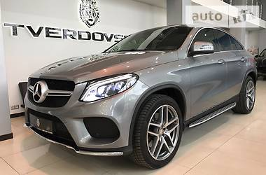 Mercedes-Benz GLE-Class Coupe AMG  2015