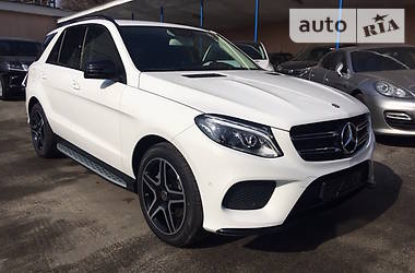 Mercedes-Benz GLE-Class  AMG BlackPackage 2017