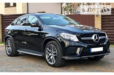 Mercedes-Benz GLE-Class 350d COUPE ///AMG 2017