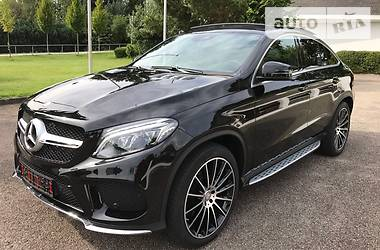 Mercedes-Benz GLE-Class 350d Coupe AMG 2016