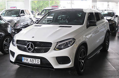 Mercedes-Benz GLE-Class 350d 4Matic Coupe MG 2018