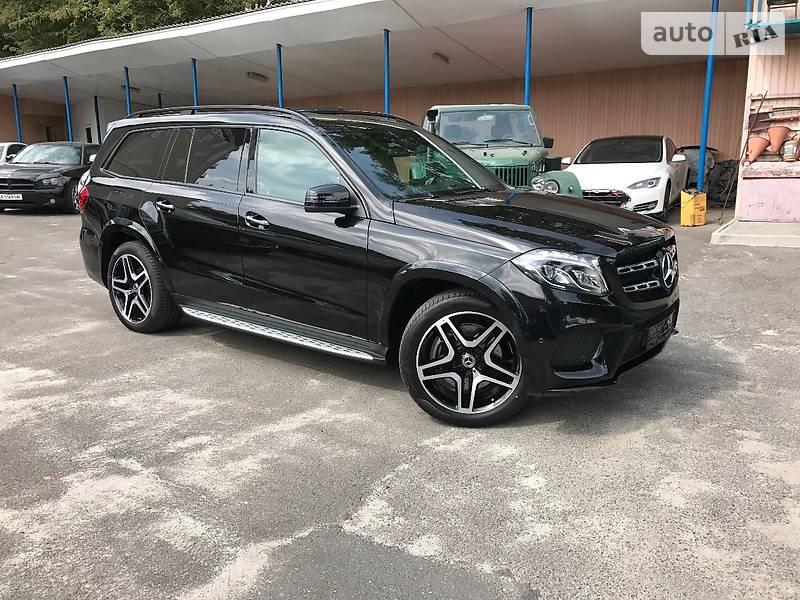 Mercedes-Benz GLS 2017 года