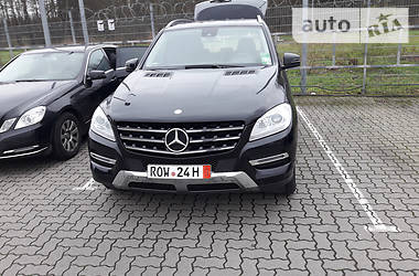 Mercedes-Benz ML 250 166 2013