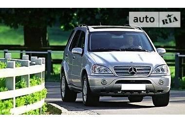 Mercedes-Benz ML 55 AMG 4matic Gasoline 2002
