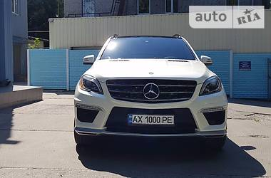 Mercedes-Benz ML 63 AMG  2014