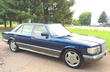 Mercedes-Benz S 300 W126 LONG  1987