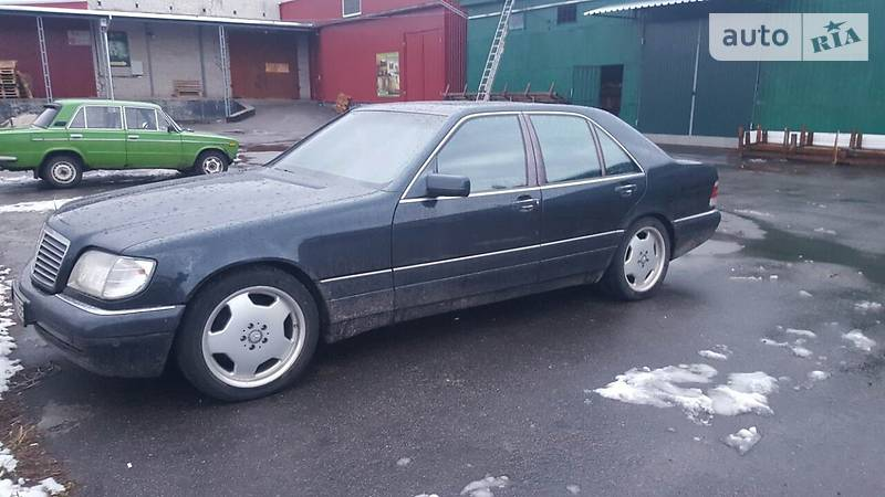 Mercedes-Benz S 420 1997 року