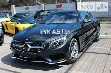 Mercedes-Benz S 500 4matic Coupe AMG 2015