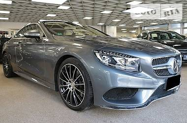 Mercedes-Benz S 500  4matic Coupe AMG 2016