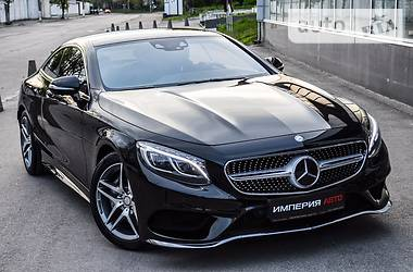 Mercedes-Benz S 500 AMG Coupe 4matic 2016