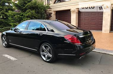 Mercedes-Benz S 500 Designo 4Matik Long 2015