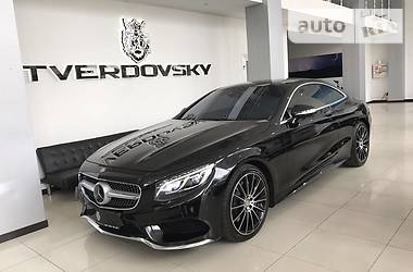 Mercedes-Benz S 500 Coupe AMG 4 Matic 2015