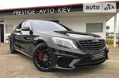 Mercedes-Benz S 500 S63 AMG 4MATIC 2015
