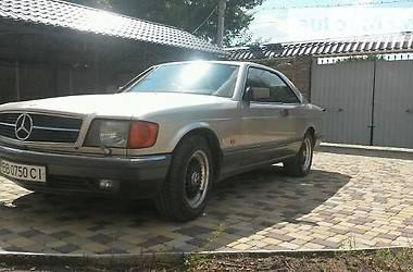 Mercedes-Benz S 550 560 sec 1987
